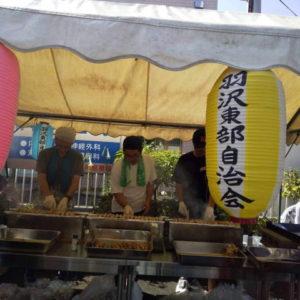 R01.08.17羽沢東部お祭り(今年で3回目の参加です^^)