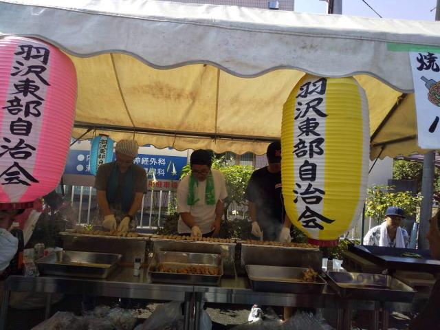 羽沢東部お祭り